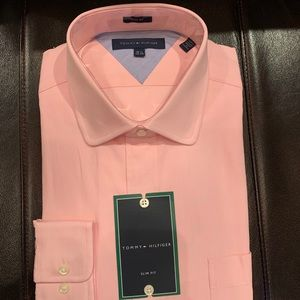 Tommy Hilfiger men's dress shirt size 16.5 34-35